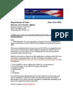 AMERICAN DV-2010 VISA LOTTERY PROGRAM WINNER