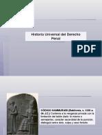 HISTORIA DEL DERECHO PENAL
