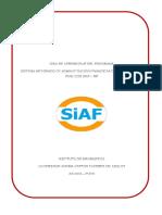 Guia de Aprendizaje Siaf - Rp
