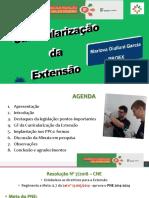CURRICULARIZAÇÃO DA EXTENSÃO - live