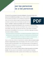 Mente Es Maravillosa 33 - Así Manejan Las Personas Inteligentes a Las Personas Tóxicas