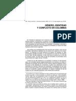 GÉNERO, IDENTIDAD Y CONFLICTO EN COLOMBIA (1)