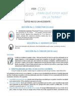 2. USTED NO ES UN ACCIDENTE- PARA EL EQUIPO