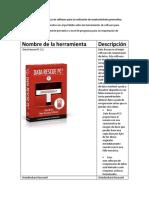 Actividad Herramientas de Software Para La Realización de Mantenimiento Preventivo