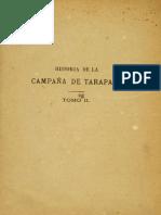 Historia de La Campaña de Tarapacá - Tomo II