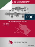 Manual Ejes Diferencial Tandem - MERITOR