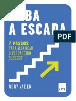 Suba a Escada - Rory Vaden