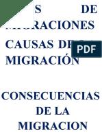Letras Migraciones