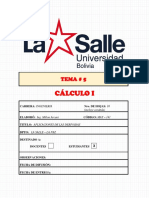 Tema 5 Calculo I