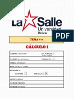 Tema 6 Calculo I