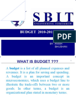 PPT ON BUDGET