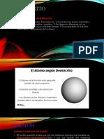 Diapositiva modelos atomicos