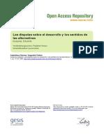 Gudynas, E. (2014) - Las disputas sobre el desarrollo