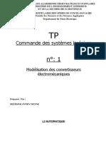 TP N°1_Modelisation des convertisseurs electromecaniques