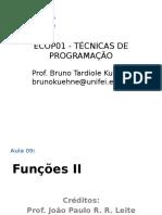 09 - Funcoes II