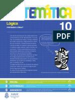 10 - Matemática - Lógica