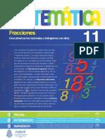 11 - Matemática - Fracciones