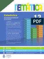 13 - Matemática - Estadística