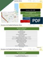 Limitaciones en los accesos a la Ciudad de Buenos Aires