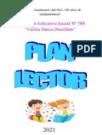 PLAN LECTOR IEI. Nº 588- 2021