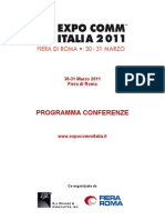 Expo Comm Italia 2011, Sessione VIRTUALIZATION & CLOUD