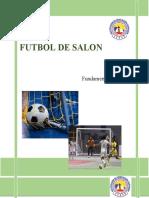 FUTBOL DE SALON MODELO DE PRODUCCION