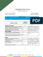 1er Informe Evolutivo Salomé 2020