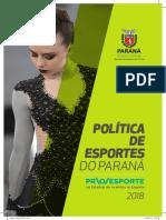 Politica de Esportes Do Parana (2)