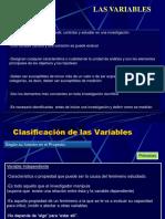 Clase Variables e indicadores, Metodologia, RE, Presupuesto