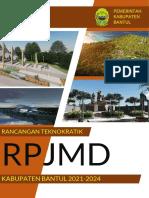 Rancangan Teknokratik RPJMD 2021-2024