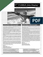 Revell F-16 MLU