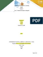 Formato de presentación de escrito