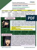 EXPERIENCIA DE APREWNDIZAJE 2 Actividad 1 ARTE 1° GRADO (1)