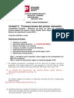 FACULTAD DE ADMINISTRACION Y NEGOCIOS TA2 INTEGRADOR