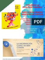Comunicación con enfoque de derechos humanos, género e interculturalidad