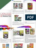 Catalogo de Productos Prismatik