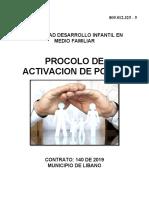 PROTOCOLO ATIVACION DE POLIZA