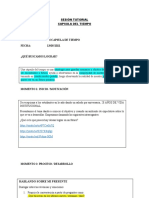 SESIÓN TUTORIAL - CAPSULA DEL TIEMPO