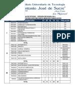 Plan de Estudio 79-Tecnología Mecanica Mencion Fabricacion
