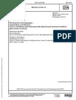 DIN ISO 21940-11 Mechanische Schwingungen-Verfahren-Toleranzen