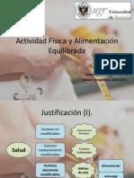 Actividad Física y Alimentación Equilibrada ppt