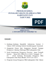 Program Kerja Pengkab Pbsi 2022