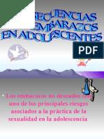 DIAPOSITIVAS EMBARAZO ADOLESCENTES