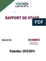 Rapport de Stage III