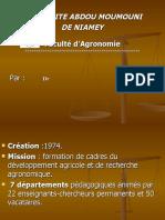 PRESENTATION Fac Agro