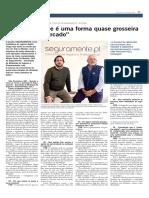 Entrevista com os responsáveis da SEGURAMENTE ao Jornal Vida Económica