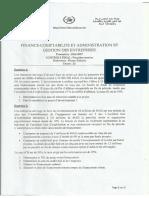 Examen GF II & Politique financière FIRANO 2016-2017 (session normale) (énoncé+corrigé) V3