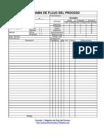Formato Diagrama de Flujo del Proceso