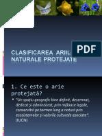 Clasificarea ariilor naturale protejate