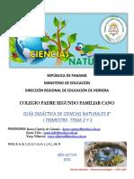 GUÍA # 2-3 DE CIENCIAS NATURALES - SISTEMA INMUNOLÓGICO